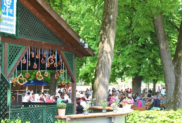 Augustiner Schutzengarten Ihr Biergarten In Munchen Sendling